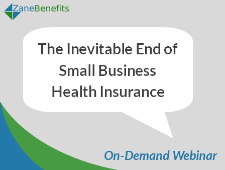 New On-Demand Webinar on Small Business Health Insurance