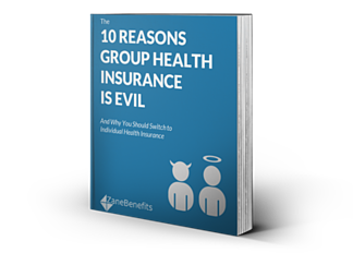 New eBook on Why Group Health Insurance is Evil