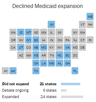 declined medicaid expansion