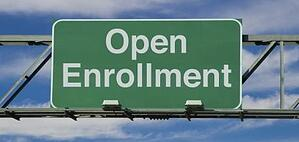 Chart of Annual Open Enrollment Periods
