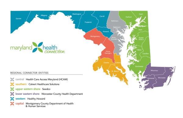 Maryland Health Exchange Rates