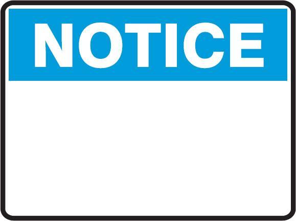notice material modification