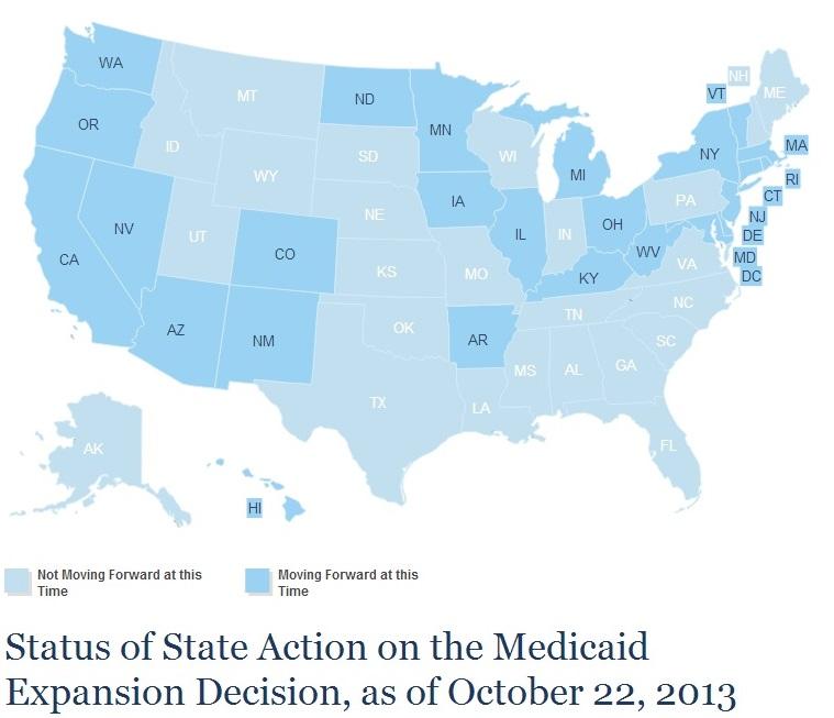 Medicaid Expansion October 2013