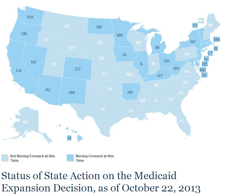Medicaid Expansion October 2013