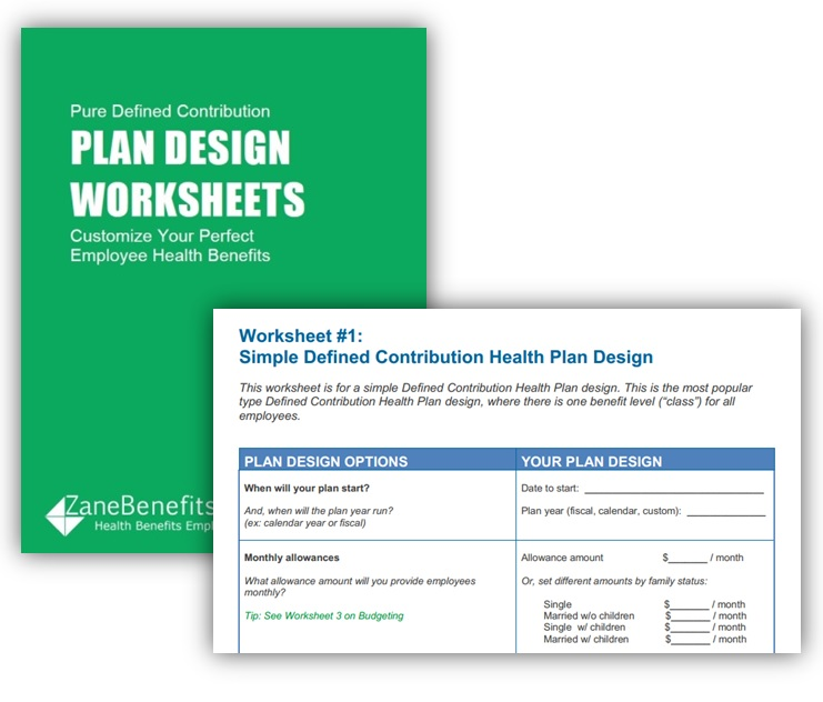 Defined Contribution Plan Design Worksheets Zane Benefits