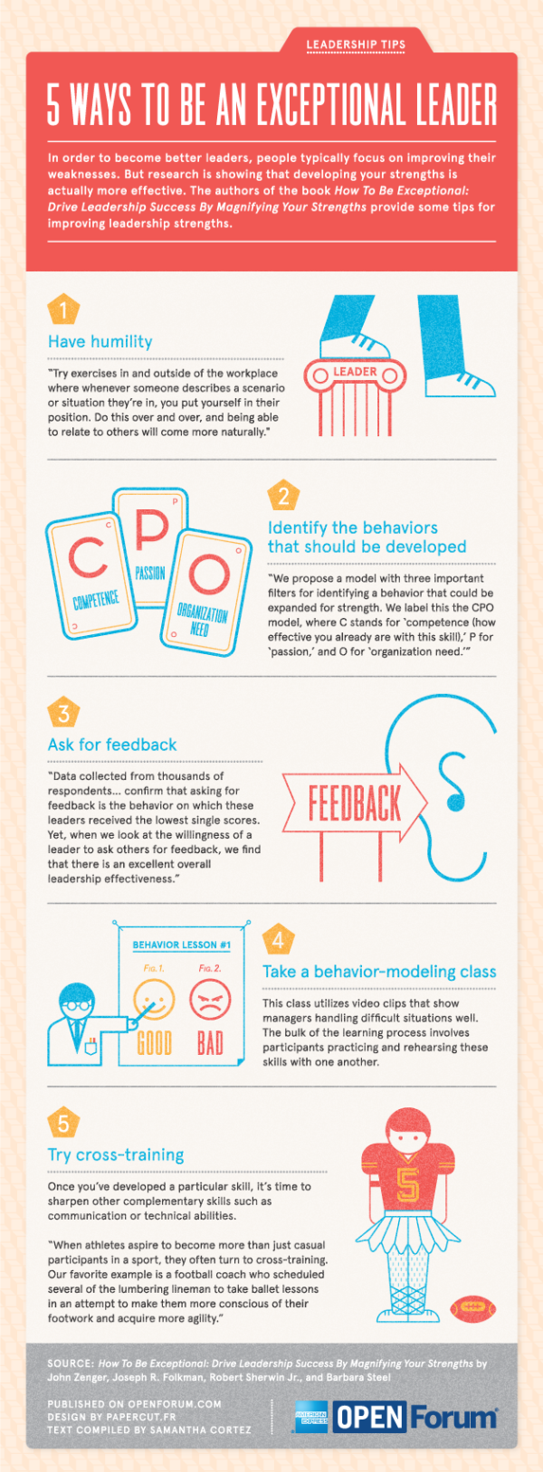 ways to be an exceptional leader infographic cortez papercut open forum resized 600