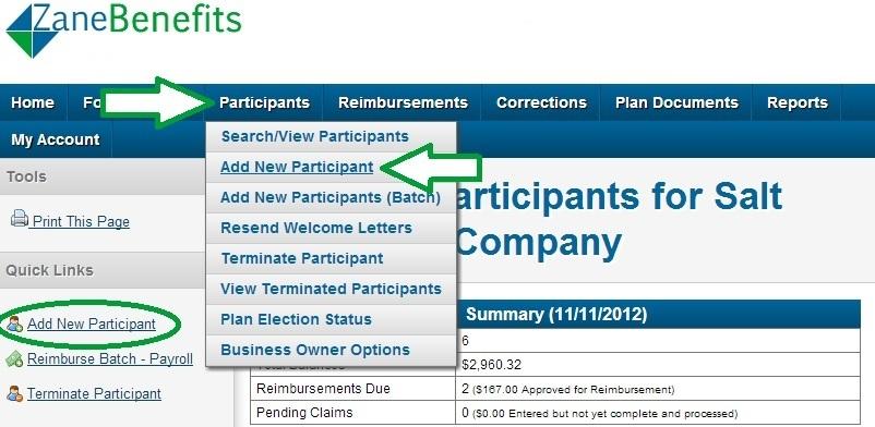 implementation step 1   enroll employees