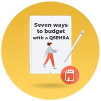 7 ways to budget with a qsehra_cta icon