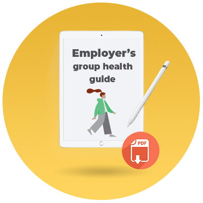 Employers guide to tackling group health insurance renwals_cta icon