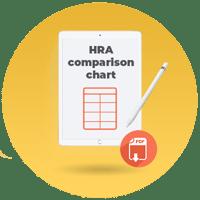 HRA comparison chart_cta icon