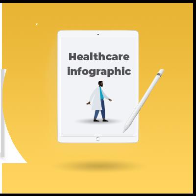 Healthcare infographic_cta icon