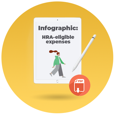 What can be reimbursed with an HRA?_CTA icon