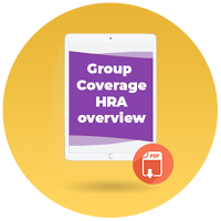 GCHRA overview, group coverage hra