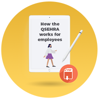 how the qsehra works for employees_cta icon