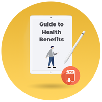 small business guide to health benefits 2020 - CTA icon