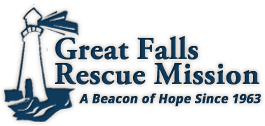 great falls rescue mission, logo