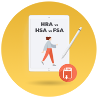 hra hsa fsa comparison chart CTA icon