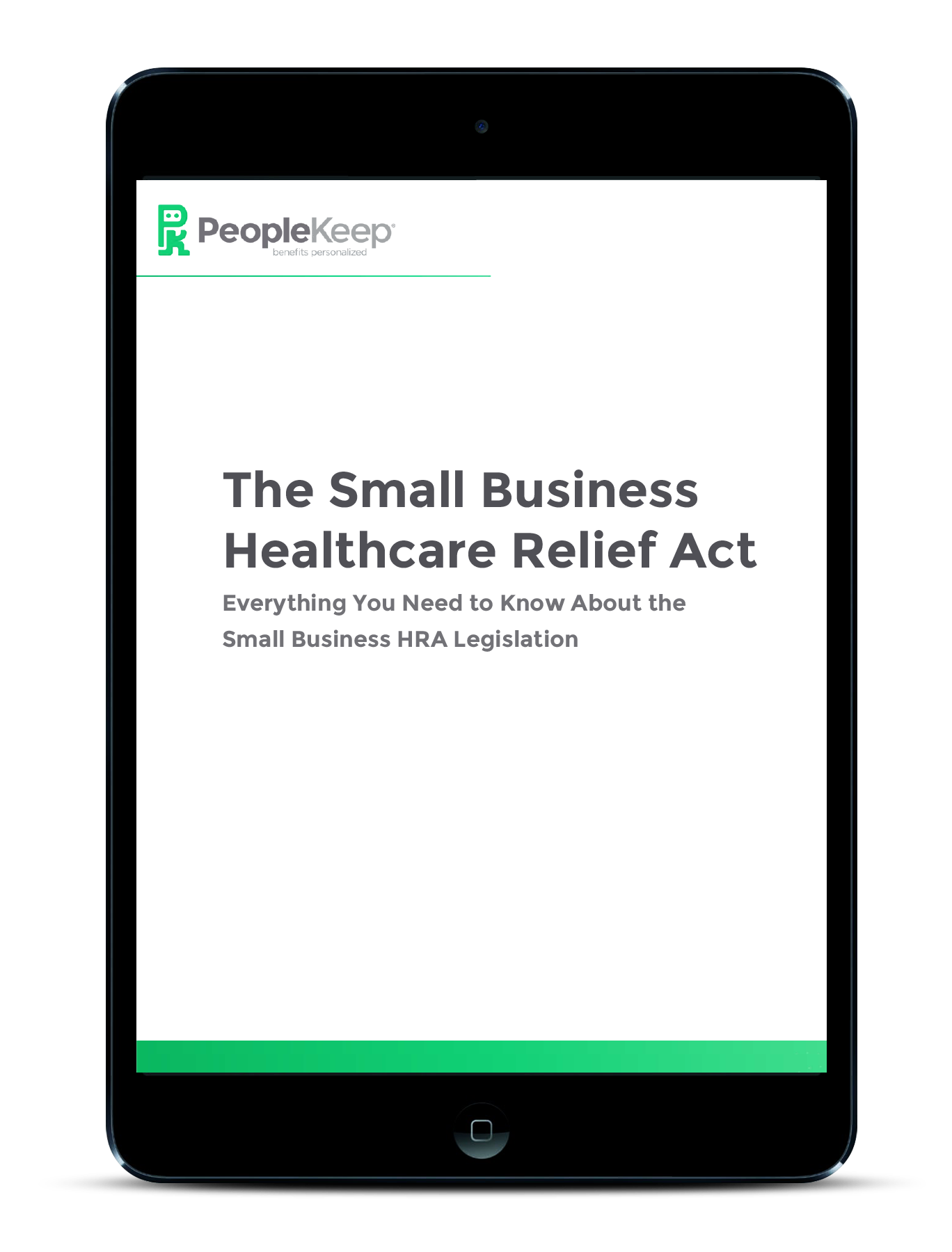 SBHRA - Download the eBook to learn abou the Small Business HRA legislation