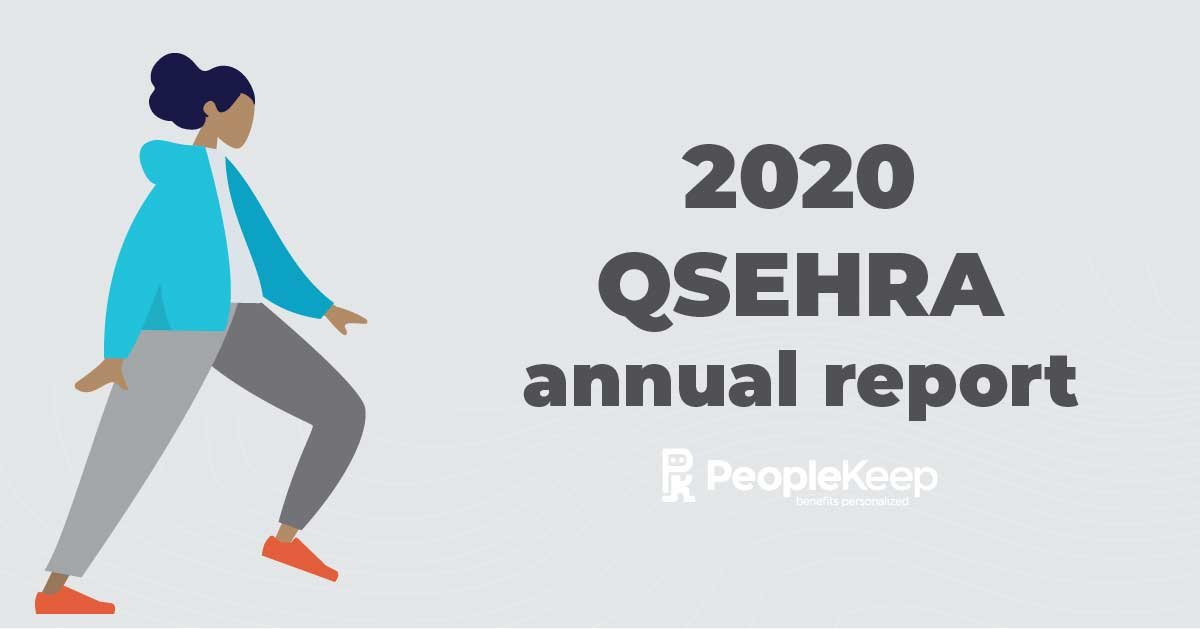 QSEHRA, annual report, 2020