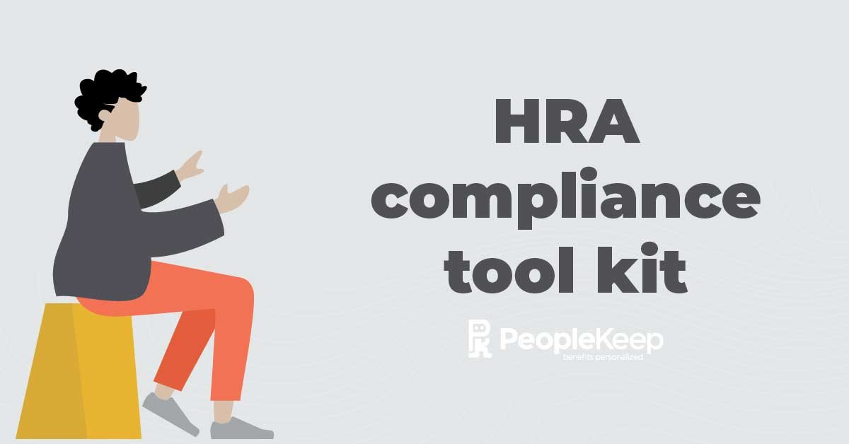 HRA compliance, tool kit, health reimbursement arrangement