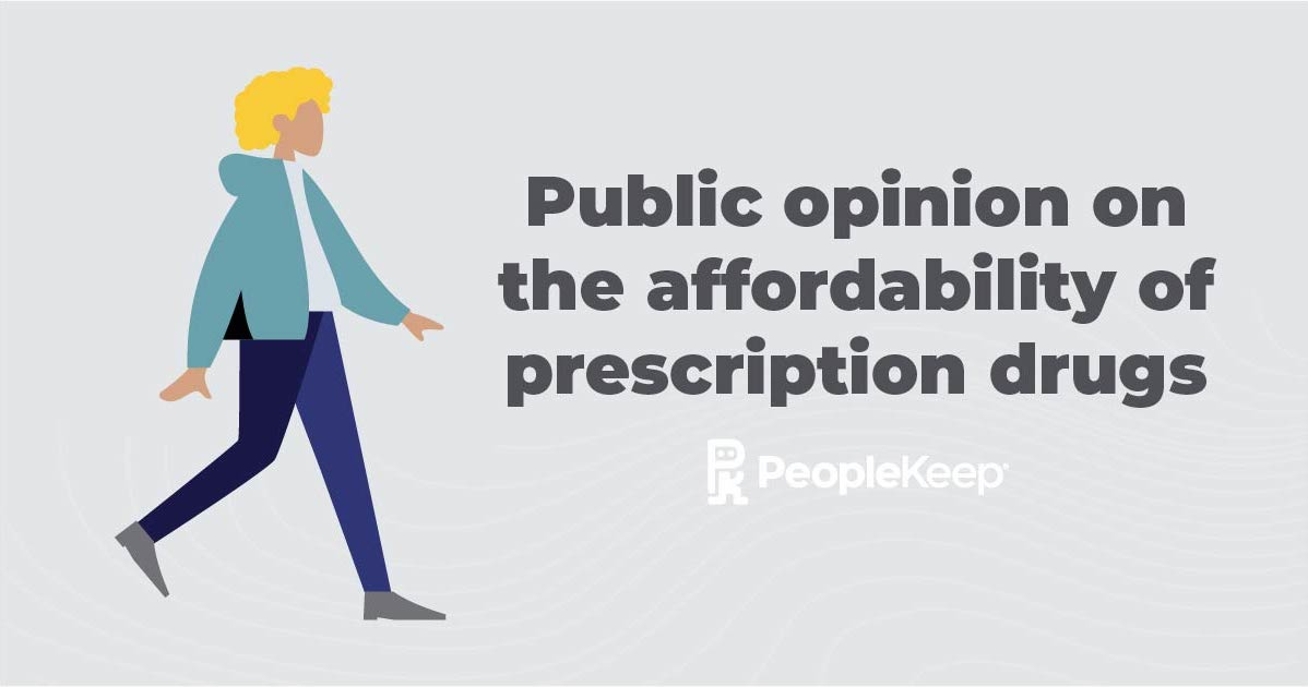 Public opinion on the affordability of prescription drugs