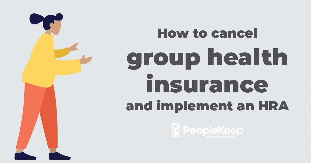 how to cancel group health insurance_fb