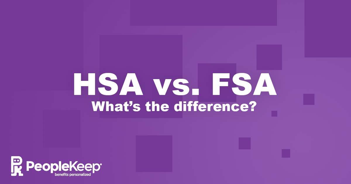 HSA, FSA, health savings account, flexible spending account