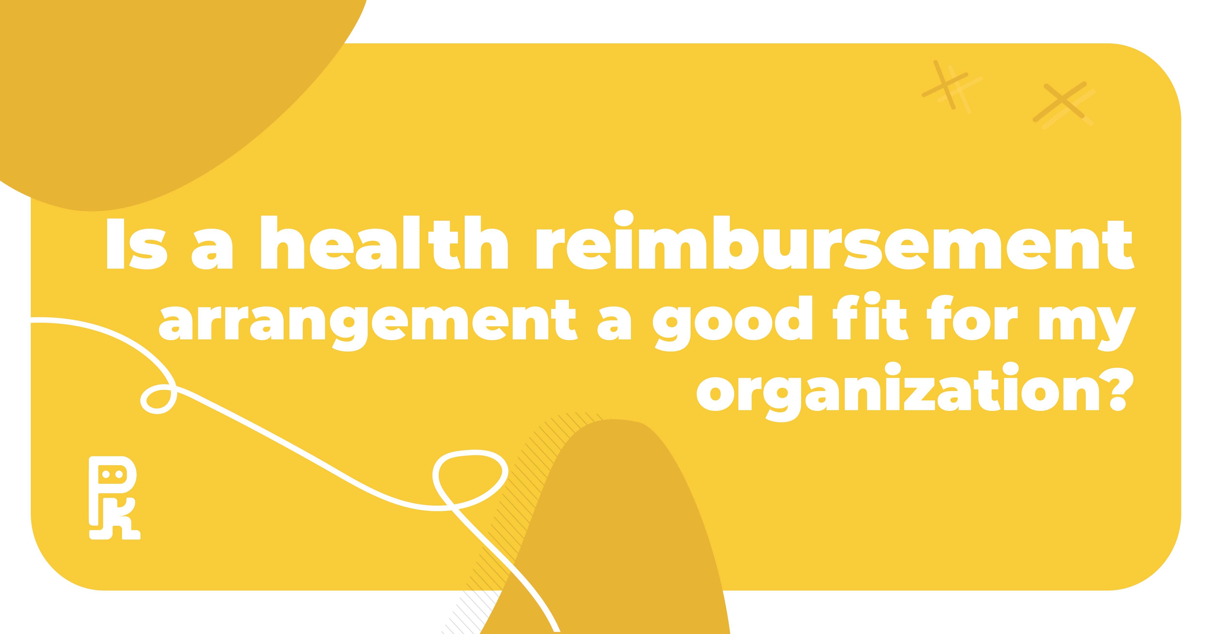 health reimbursement arrangement, HRA